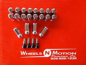 14X1-5-MM-LUG-NUTS-KIT-CHROME-CHEVY-20pc-kit