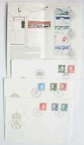 Sweden-FDC-First-Day-Cover-8-Lot