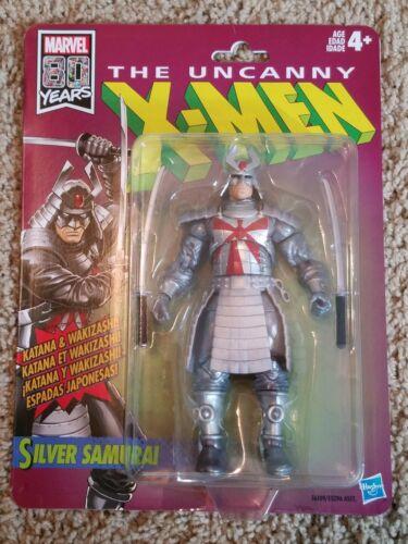 """Marvel Legends Rétro Uncanny X-men Silver Samurai 6/"""" Figure"""