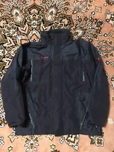 Men's Mammut Goretex XCR Mountain Black Jacket Size XXL