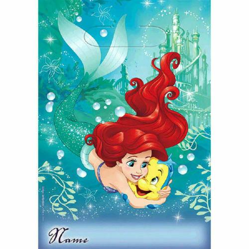 Disney Princess Little Mermaid Ariel Dream Big Birthday Party Invitations