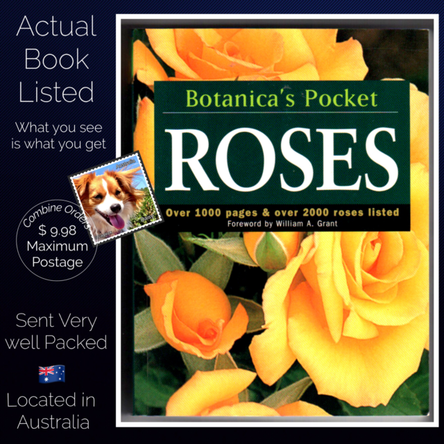 Botanic's Pocket Roses by William A. Grant (Paperback, 2000)