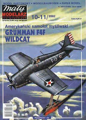Maly Modelarz 6//02 britisches Jagdflugzeug Hawker Hurricane    1:33