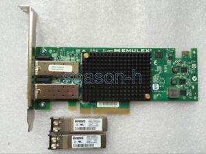 Emulex-OCe11102-10-Gigabit-10GBe-10Gbit-Dual-Port-Server-Adapter-PCIe-x8-SFP