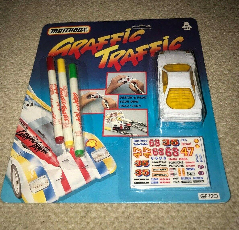 MATCHBOX MATCHBOX MATCHBOX - Graffic Traffic - Racer (1992). New Sealed 8b4d57