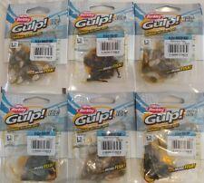 icefishing bait powerbait wax worm Berkley Gulp Ice Euro Larvae 5pack Lot