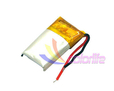 Battery Rechangeable 3.7v 041220 80mAh for Smartwatch Handset Bluetooth GPS