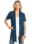 Women-039-s-Solid-Short-Sleeve-Cardigan-Open-Front-Wrap-Vest-Top-Plus-USA-S-3X thumbnail 31