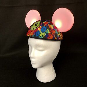 3ae10ed8aa5 Mickey Mouse Flashing Light Ears Hat Cap Authentic Walt Disney Parks ...