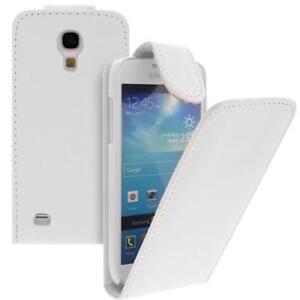 Per-Samsung-Galaxy-S4-Mini-i9190-Cellulare-Custodia-Flip-Bianco-con-Nuovo