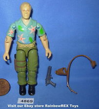 1987 CHUCKLES Undercover GI Joe 3 3/4 inch Figure COMPLETE