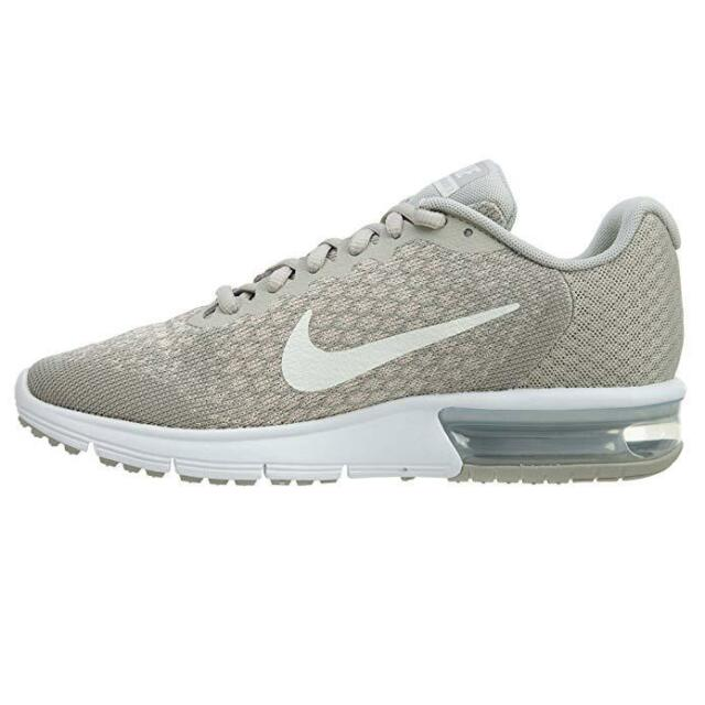 sale retailer e3f40 89c70 10 Women's Nike Air Max Sequent 2 Pale Grey Light Bone 852465-011 Running  90 95