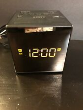 Sony - AM/FM Dual-Alarm Clock Radio ICF-C1T – Black Used