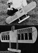 """Model Airplane Plans (UC): TOOTHPICK 42"""" Combat for .36 Engine by Dick Tyndall"""