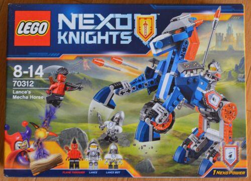 Lego 70312 Nexo chevaliers lance le Mecha Cheval ** Brand New /& Sealed **