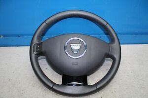 Dacia-Lodgy-Bj-12-Volant-en-Cuir-Cuir-Volant-avec-Airbag-484302027R-985105160R