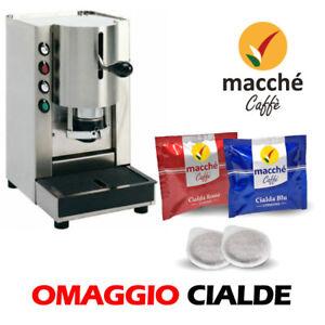 MACCHINA-CAFFE-039-FILTRO-CARTA-44MM-SPINEL-PINOCCHIO-INOX-BASE-CON-CIALDE-OMAGGIO