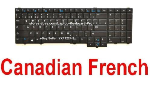 CF Canadian French 08YPDF NSK-LEBUC Keyboard for Dell Latitude E5540