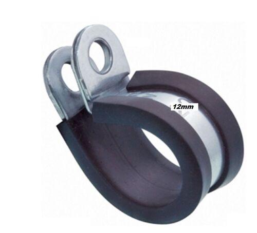 Rohrschelle Schlauchschelle Edelstahl A2 W4 Bandbr 12mm Leitungsschelle RSGU