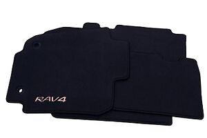 Genuine Toyota Rav4 Rav 4 Textile Carpet Mat Mats Set 2008/>2012 Anthracite New
