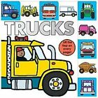 Lift-The-Flap Tab Bks.: Trucks by Roger Priddy (2013, Board Book)