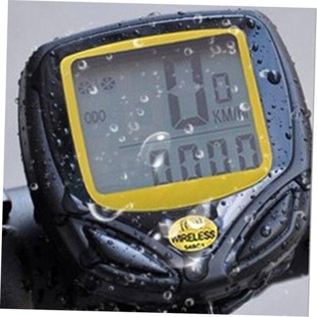 Waterproof Wireless Bicycle Cycling Sport Bike Computer Speedometer Odometer T6