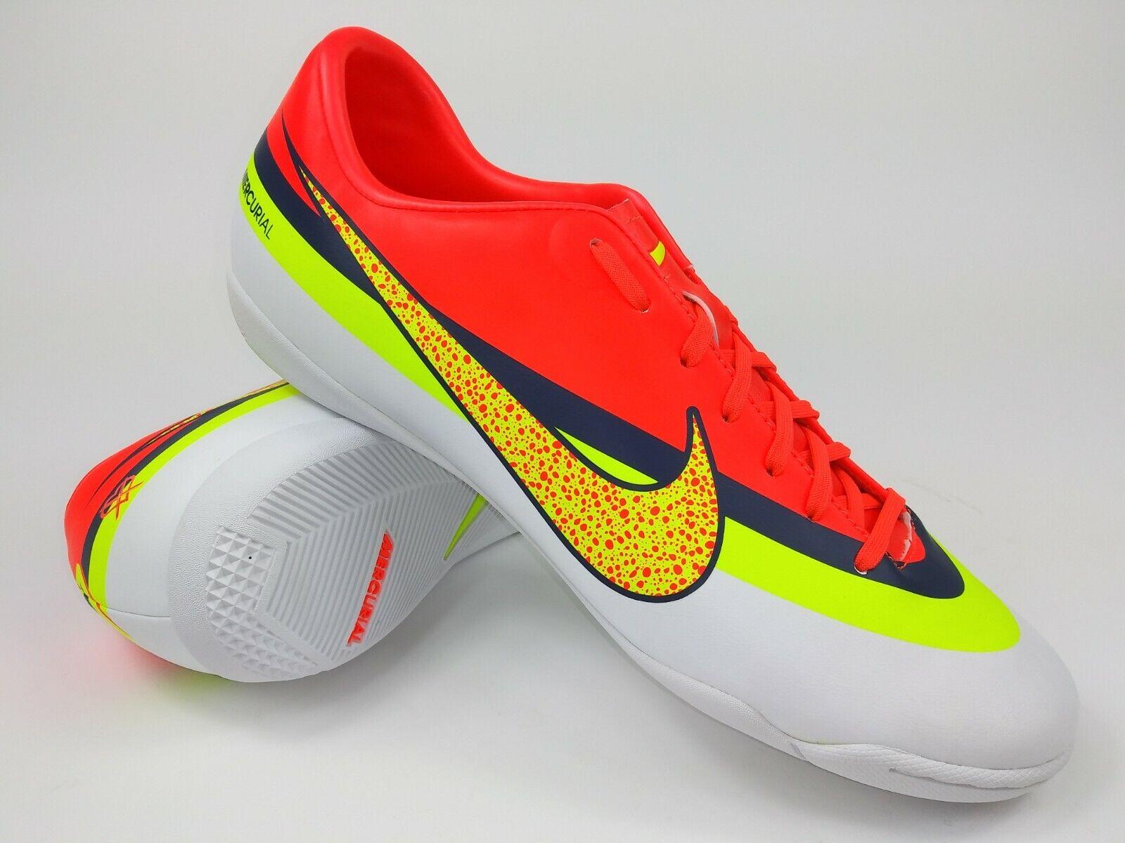 Nike Hombre Rareza Mercurial Victory IV Cr Ic 580477-174 blancoo Fútbol Zapatos