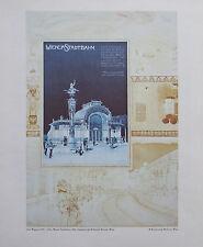 Otto Wagner Wiener Stadtbahn Wien 33x40 Kunstdruck art print