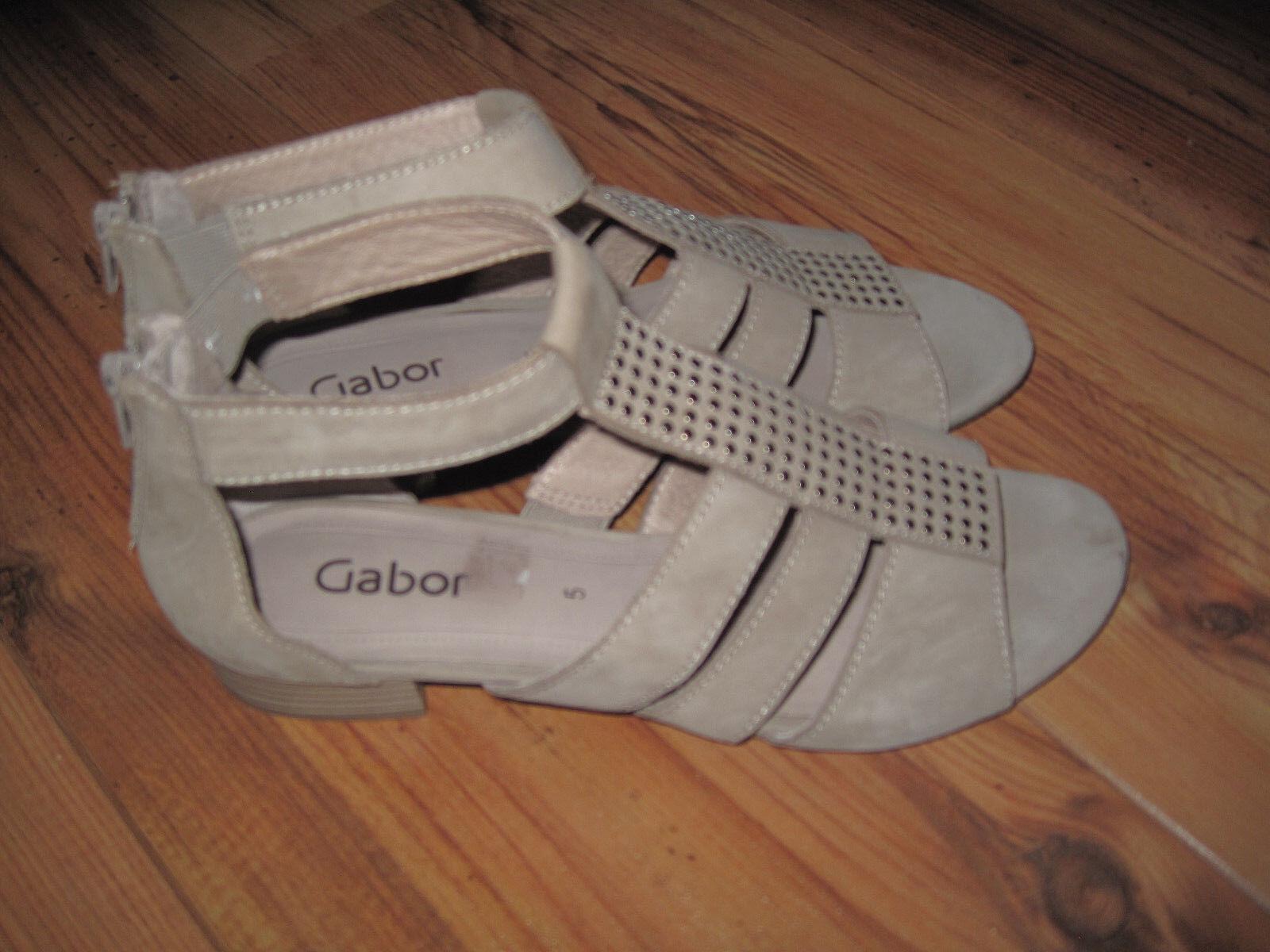 NEU: Gabor Damen Schuhe Sandale Sandaleetten Pumps Größe 38