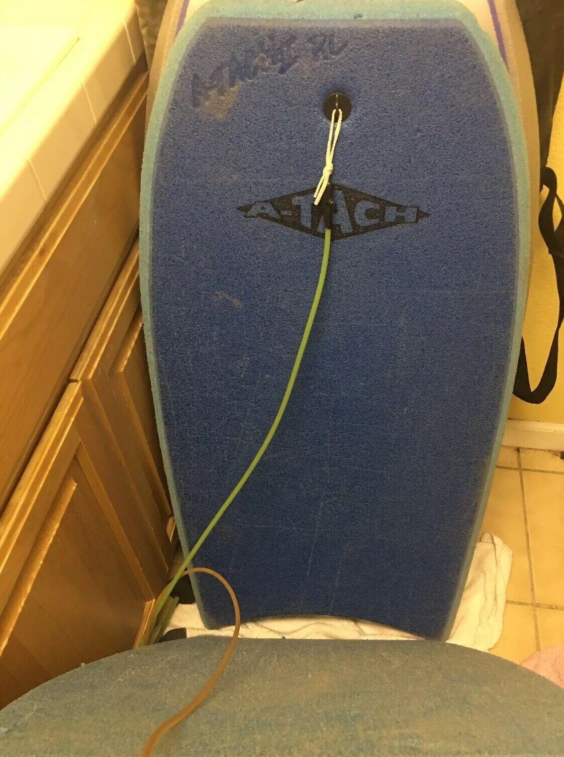 Atach Bodyboard Lote (2) Vintage Raro