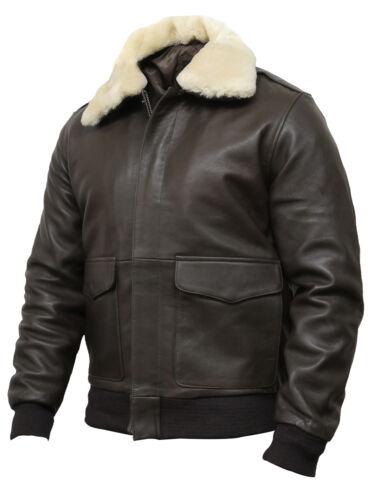 Brandslock Mens Genuine Leather Biker Jacket Distressed