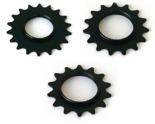 "Track Sprocket 1//2x1//8/"" BLACK Fixed Gear Single Speed Cog Fixie 14 15 16 17 18 t"
