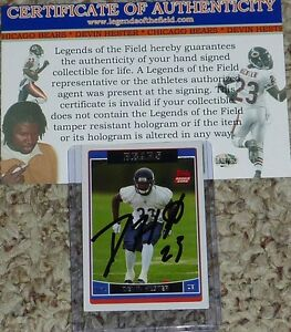 Image is loading Chicago-Bears-Devin-Hester-Autographed-23-Signed-2006- 4052a1313