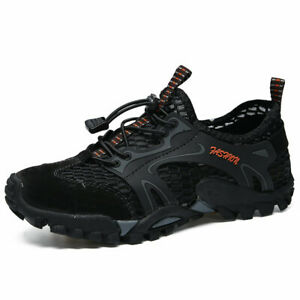 Mens-Breathable-Outdoor-Climbing-Water-Shoes-Hiking-Non-slip-Waterproof-Falts