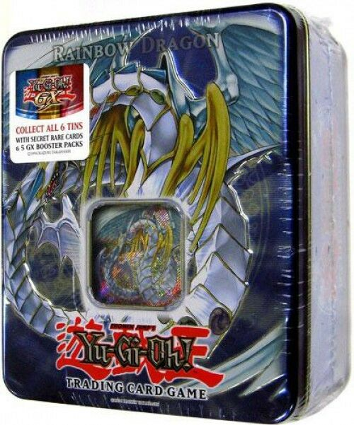 Yu-Gi-Oh GX 2007 Rainbow Dragon Collector Tin Set [Sealed]