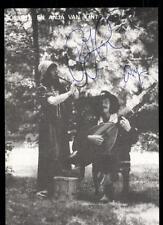 Robbert En Anja van Lint Autogrammkarte Original Signiert ## BC 54014