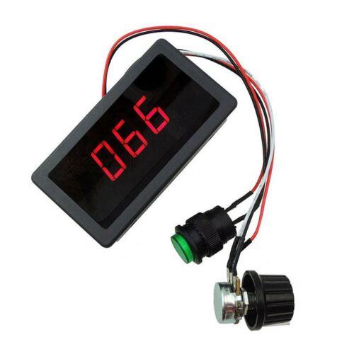 Pantalla digital LED 6V 12V 24V PWM DC Motor Controlador de velocidad variable para X2G8