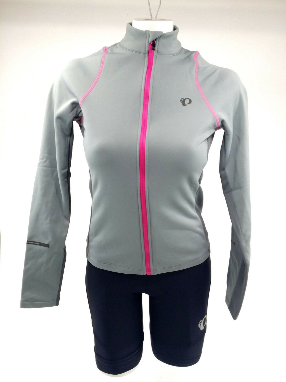 Pearl Izumi 2017 Women's Select Escape Thermal Jersey Monument Smoked Pearl, XS