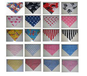 Bandana-diapositiva-en-sobre-Collar-Para-Mascota-Perro-Gato-Bufanda-en-5-Tamanos-XXS-L