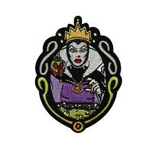Snow White's Evil Queen Disney Villain Patch DIY Fan Apparel Iron-On Applique