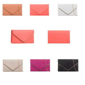 Women-Faux-Leather-Envelope-Clutch-Bag-Evening-Prom-Party-Bridal-Wedding-Purse