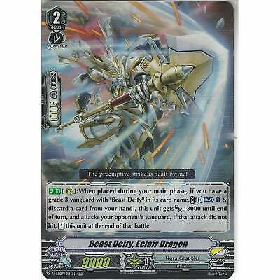 VANGUARD BEAST DEITY ECLAIR DRAGON NEAR MINT V-EB07//014EN RR