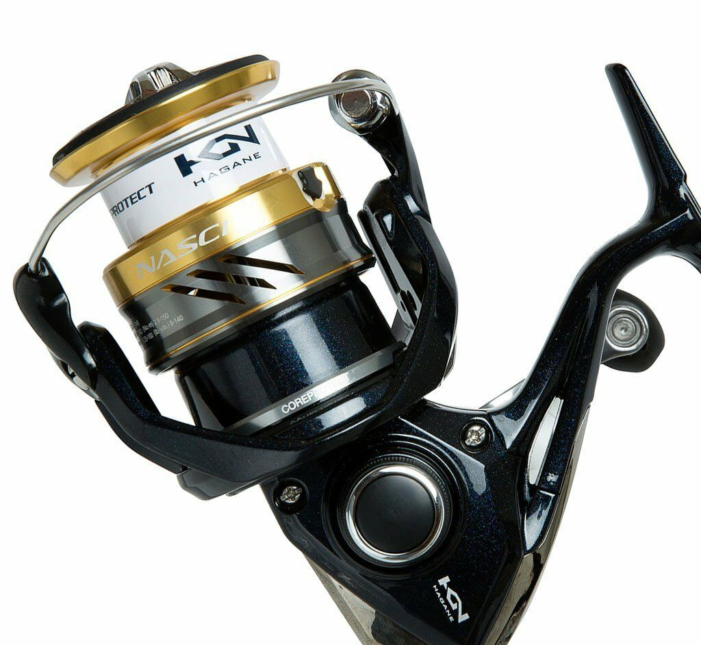 NEW SHIMANO Nasci 500 Spinning Reel, Front Drag, 4BB + 1RB , 5.6:1 NAS500FB