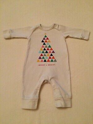 Newborn Baby Girl Boy Long Sleeve Bodysuit Romper Dinosaur Jumpsuit Babygrow n1