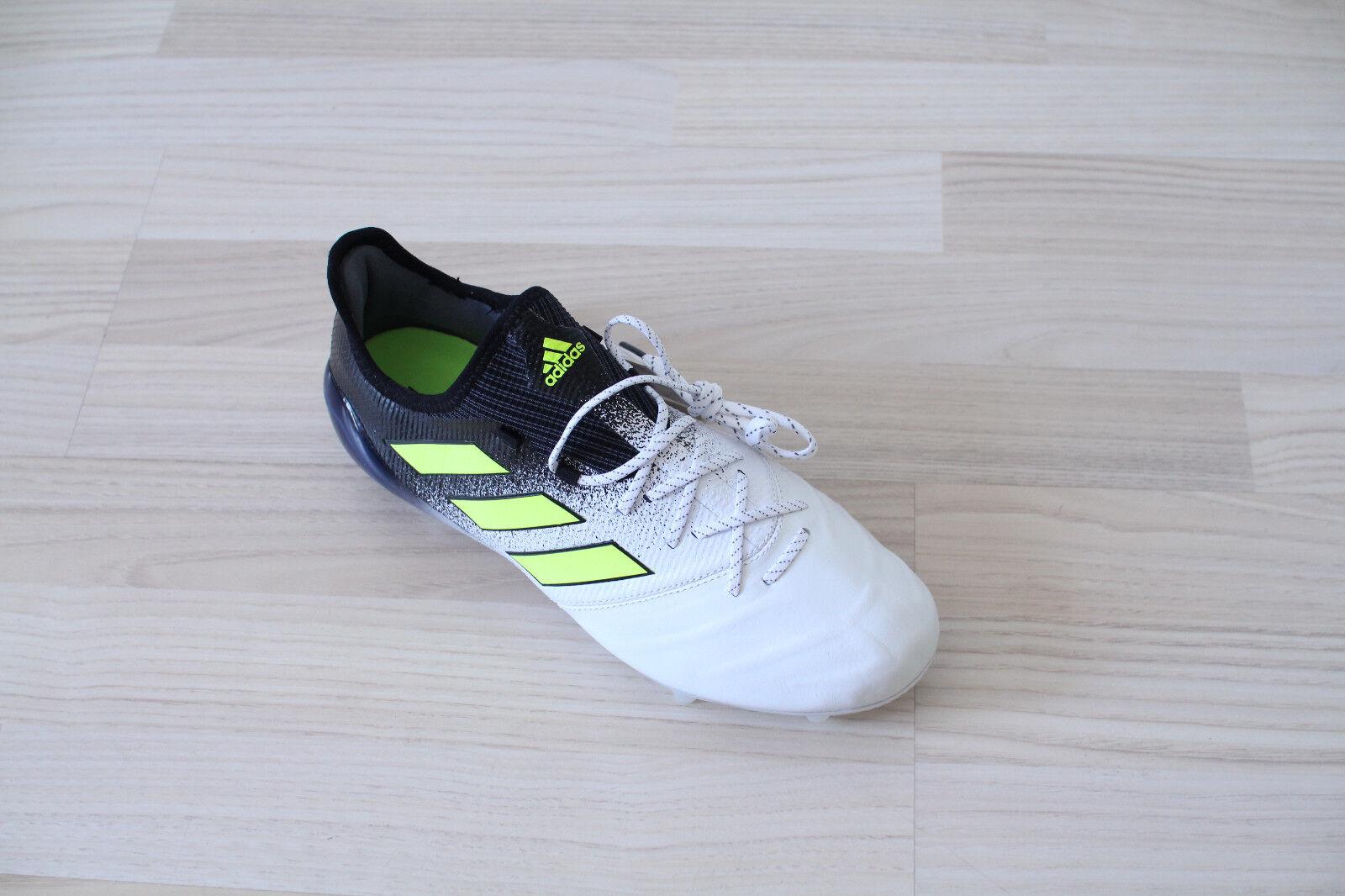 Adidas Ace 17.1 17.1 17.1 FG Leather Schwarz Weiß Gr. 40,41,42,43,44,45,46,47,48 S77041 85d03d