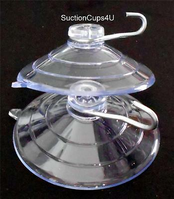 """6  2-3//8/"""" X-Duty USA Large Industrial Suction Cups Metal U-Hook suctioncups4u"""