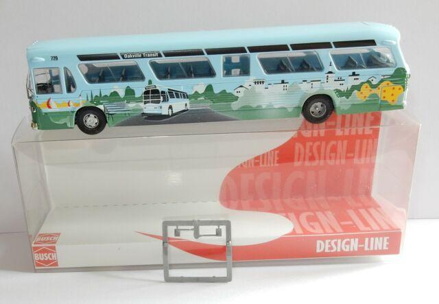 Busch 44530-1//87//h0 BUS AMERICANO FISHBOWL-Oakville-NUOVO