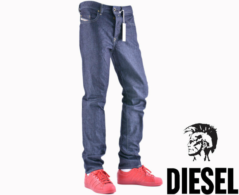 DIESEL BUSTER 0848I W32 L30 Mens Denim Jeans Regular Fit Straight