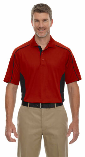 Extreme Men/'s Performance Polyester Short Sleeve Color Block Polo Shirt 85113