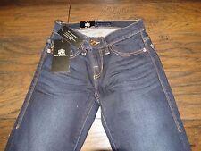17431 Womens NWT ROCK & REPUBLIC Denim Jeans ~ Size 0 S ~ Slow Reveal Skinny